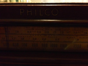 1940 Philco - bands