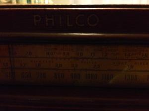 1940 Philco - bands