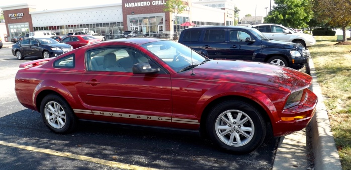 My love, my heart, my 2005 Mustang