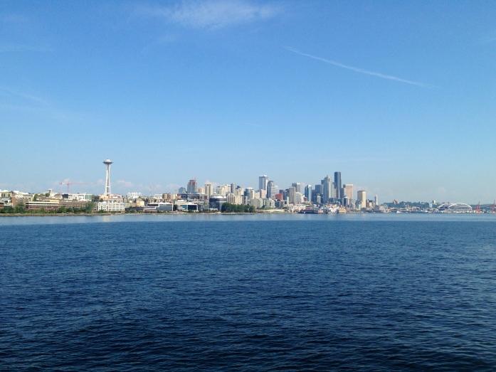 Seattle from Elliott Bay.