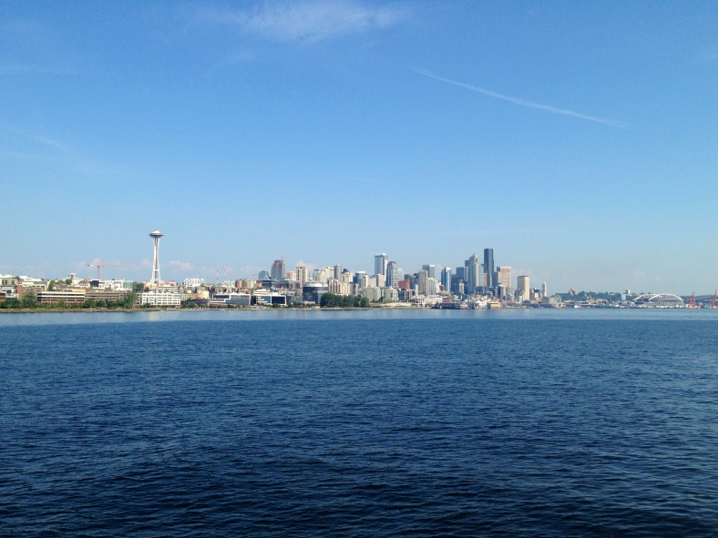 Seattle from Elliott Bay.
