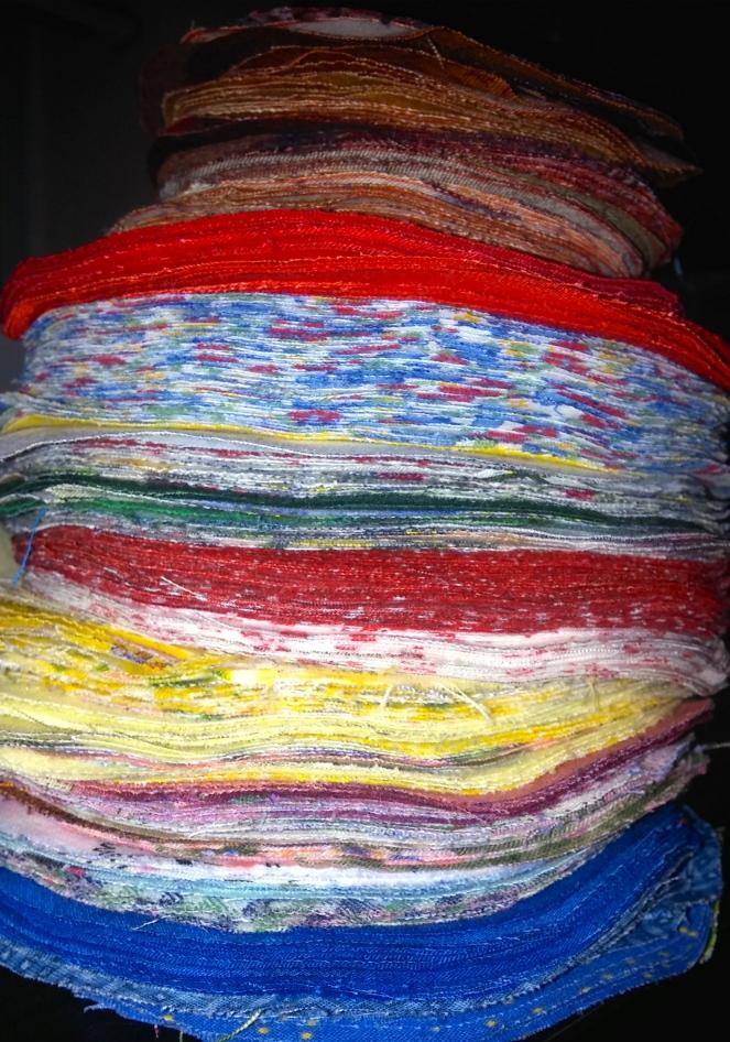 A foot of fabric fun!