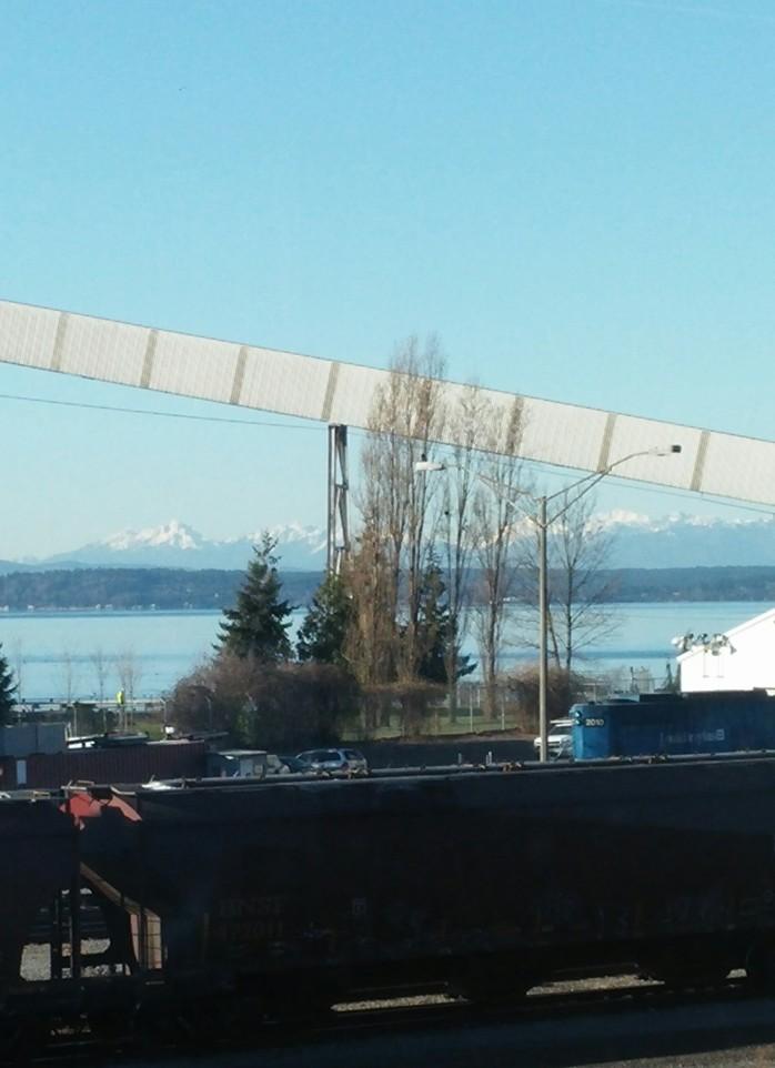 The Olympic Mountain range