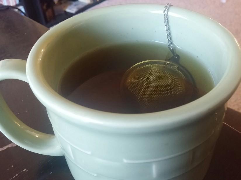 Nettle-Spearmint tea