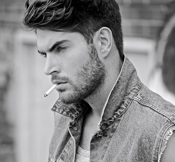 This is Nick Bateman. He's the model for my character. (He's also about to star in the film adaptation of Colleen Hoover's novel Ugly Love. Am I excited about him playing Miles Archer?  Hooooooo-boy am I!!!!)