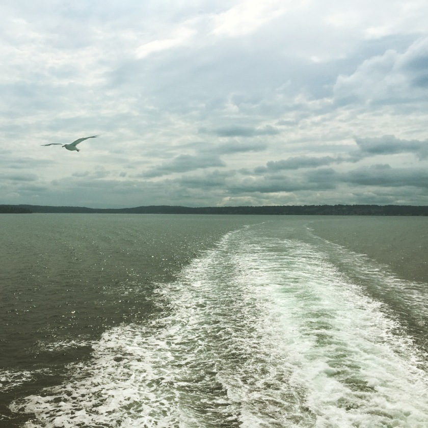 Photo snapped on the Bremerton-to-Seattle ferry last weekend.