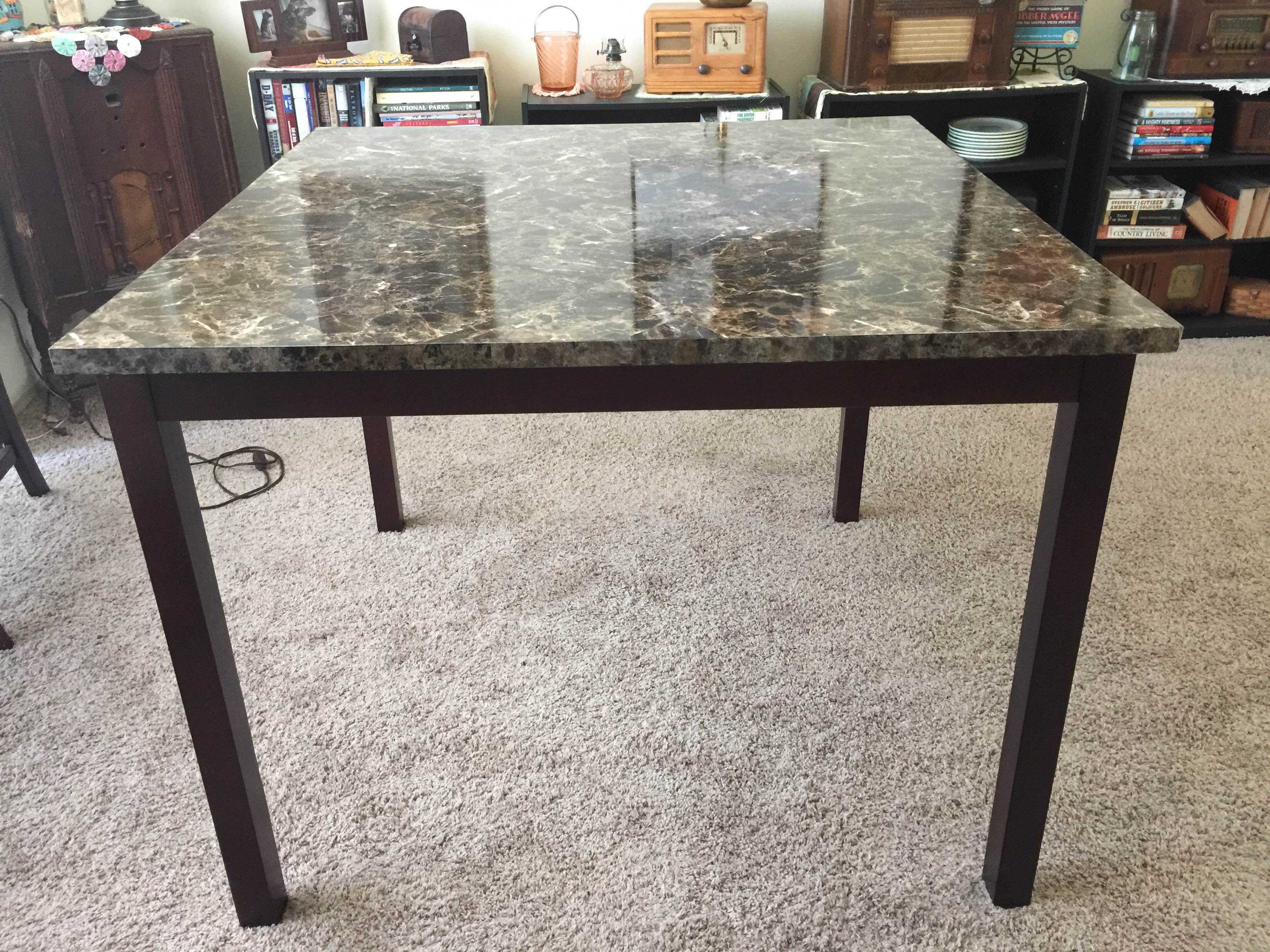 Diy Getting Rid Of That Ugly Dining Room Table At The Corner Of